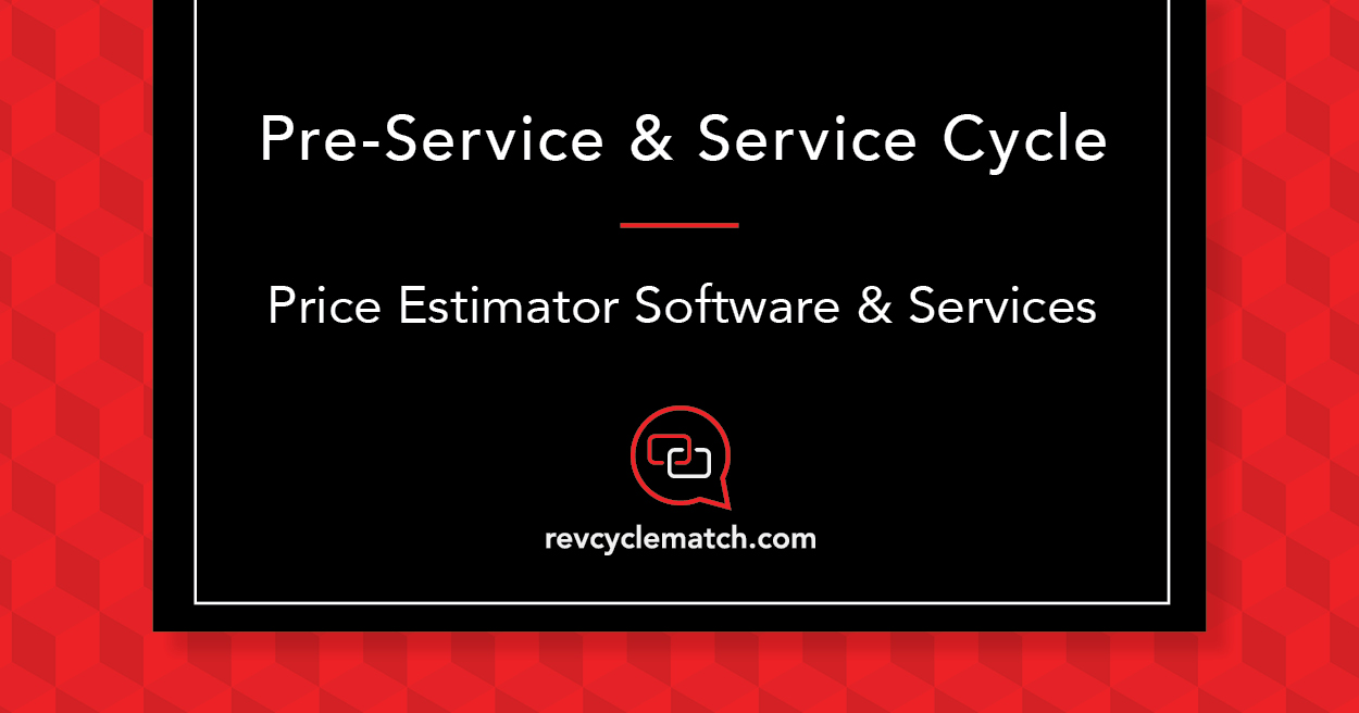 Price Estimator Software and Services